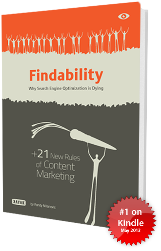 Findability ebook cover