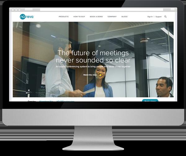 new website for Nureva Inc