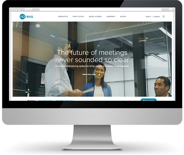 new website for Nureva Inc