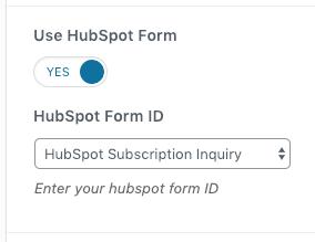hubspot-form-selector