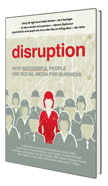 disruption how successful people use social media for business