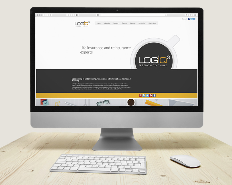 logiq3 website redesign and development on HubSpot