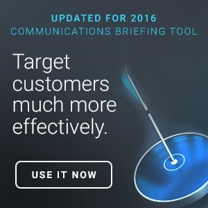 know your customers with our improved communications briefing tool