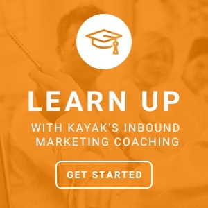 KAYAK's inbound marketing coaching for you and your team