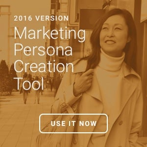 Use our free marketing persona creation tool