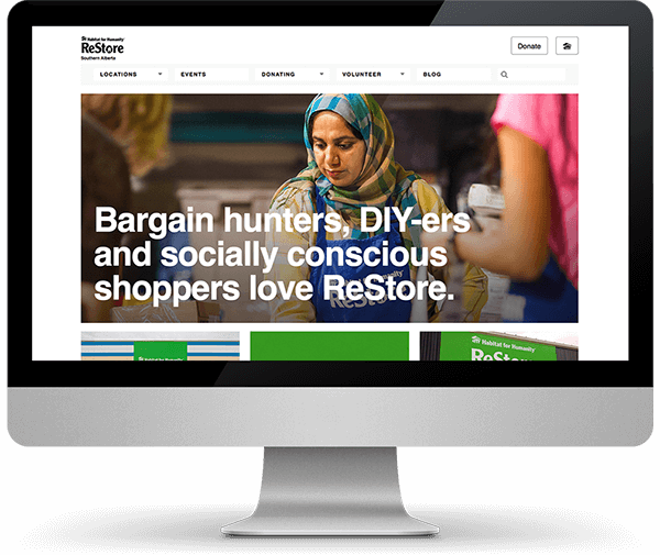 Habitat ReStore website
