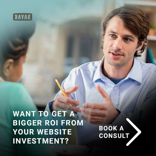 improve your website roi with a consultation