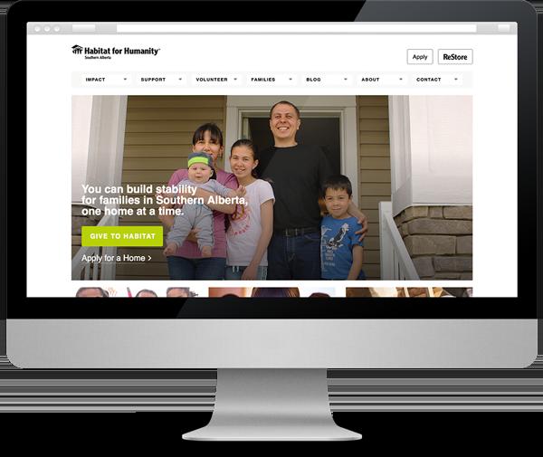 Habitat for Humanity Southern Alberta score